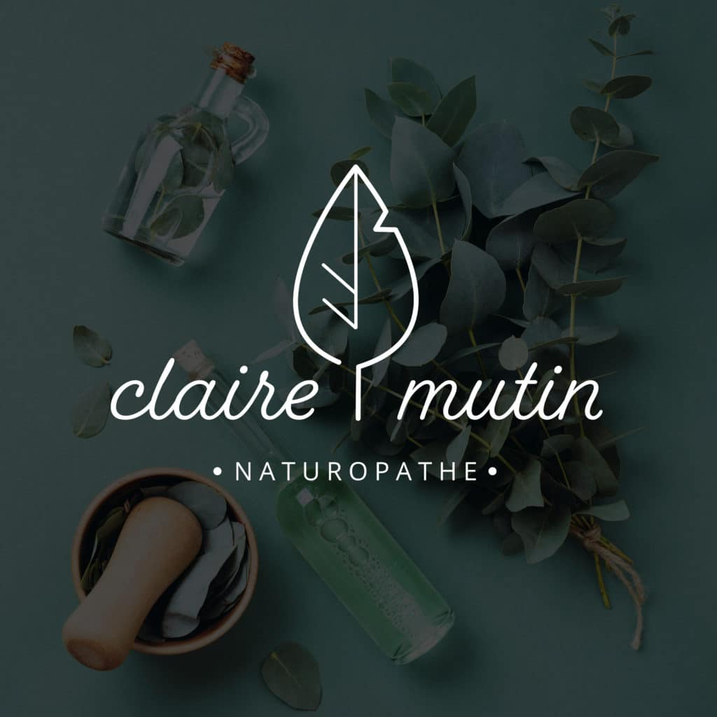 Identité visuelle - Claire Mutin