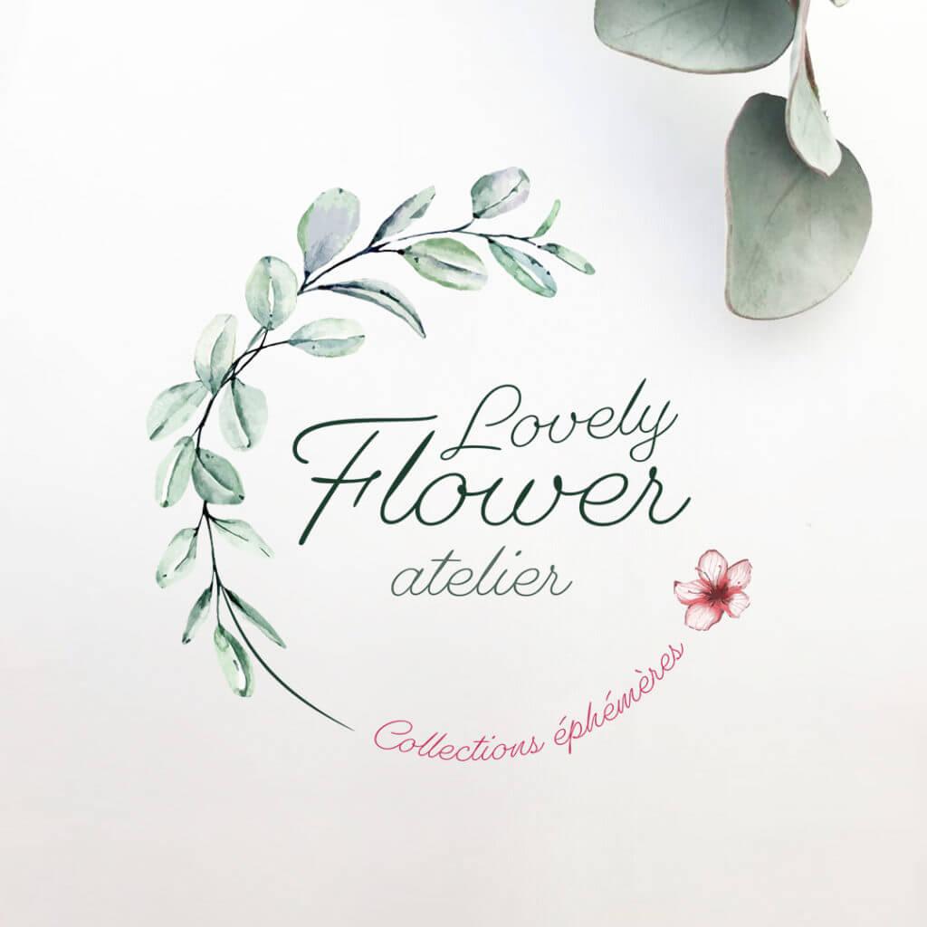 Logo - Lovely Flower atelier