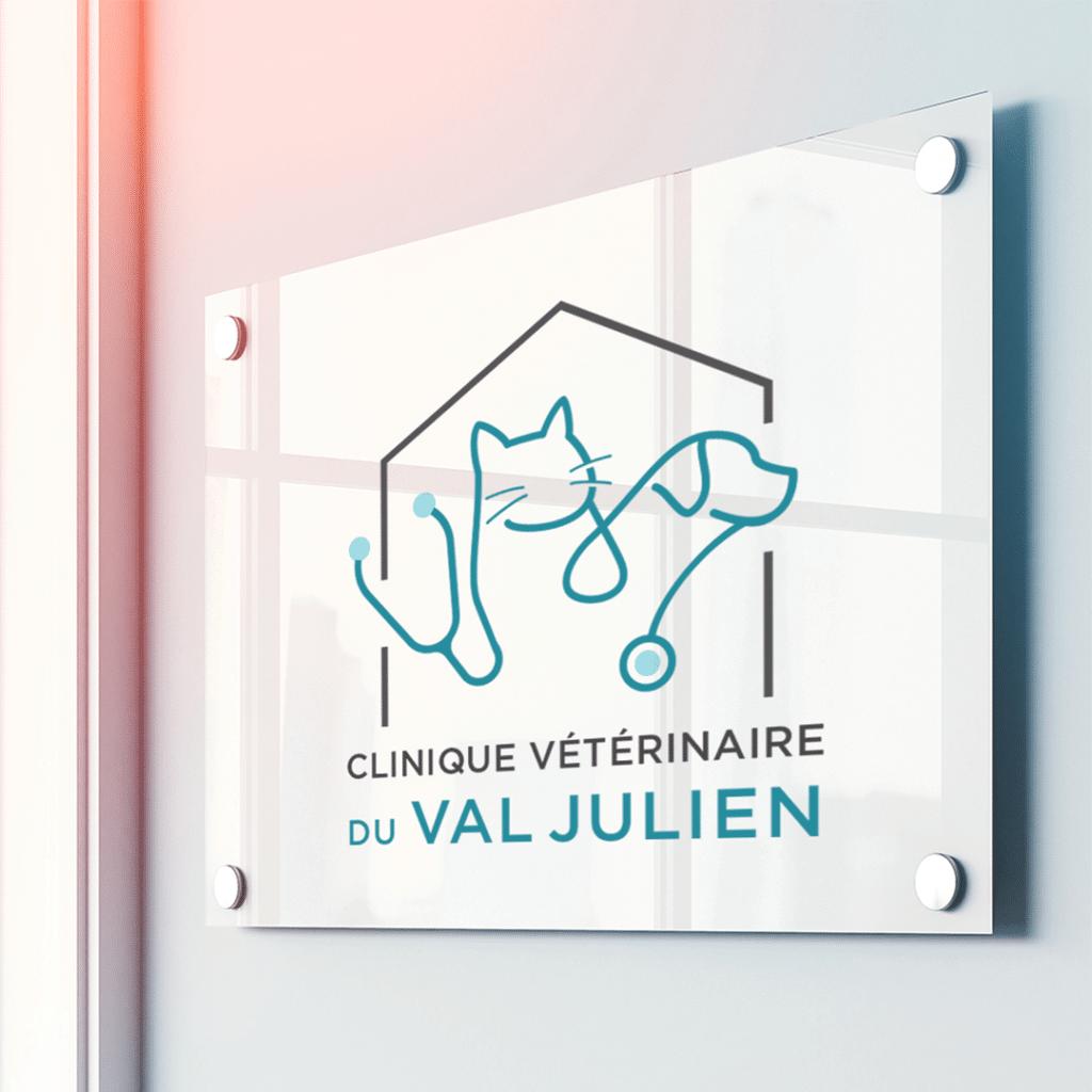 Identité visuelle - Clinique vétérinaire Val Julien