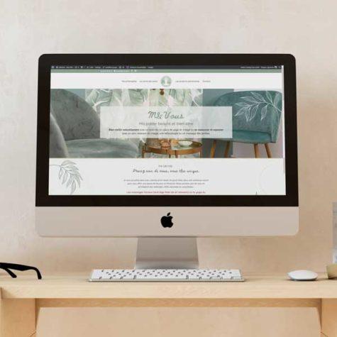 Site internet - M&Vous bien-être
