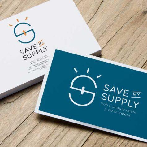 Identité visuelle - Save My Supply