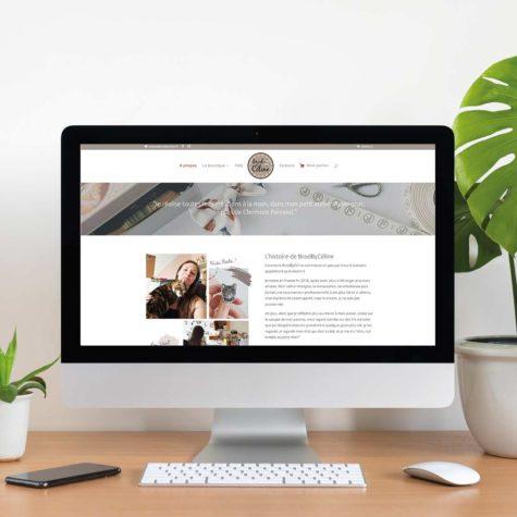 Site internet - BrodByCéline